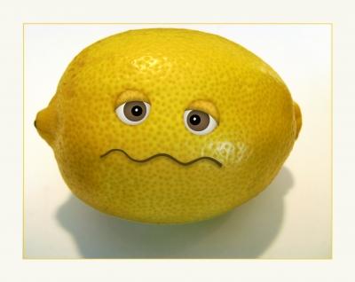 Zitrone gegen Pickel