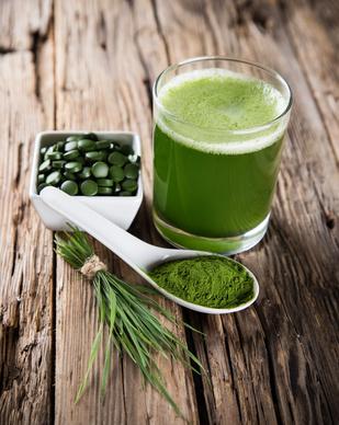 Spirulina gegen Pickel